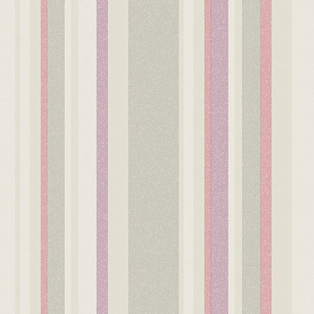 Norwall Wallcoverings Inc VIntage Damask 32.7' x 20.5'' Raised Stripe Wallpaper