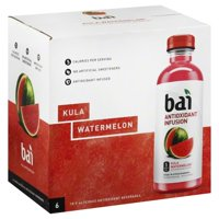 Bai Kula Watermelon Antioxidant Infusion, 18 Fl. Oz. 6 Count
