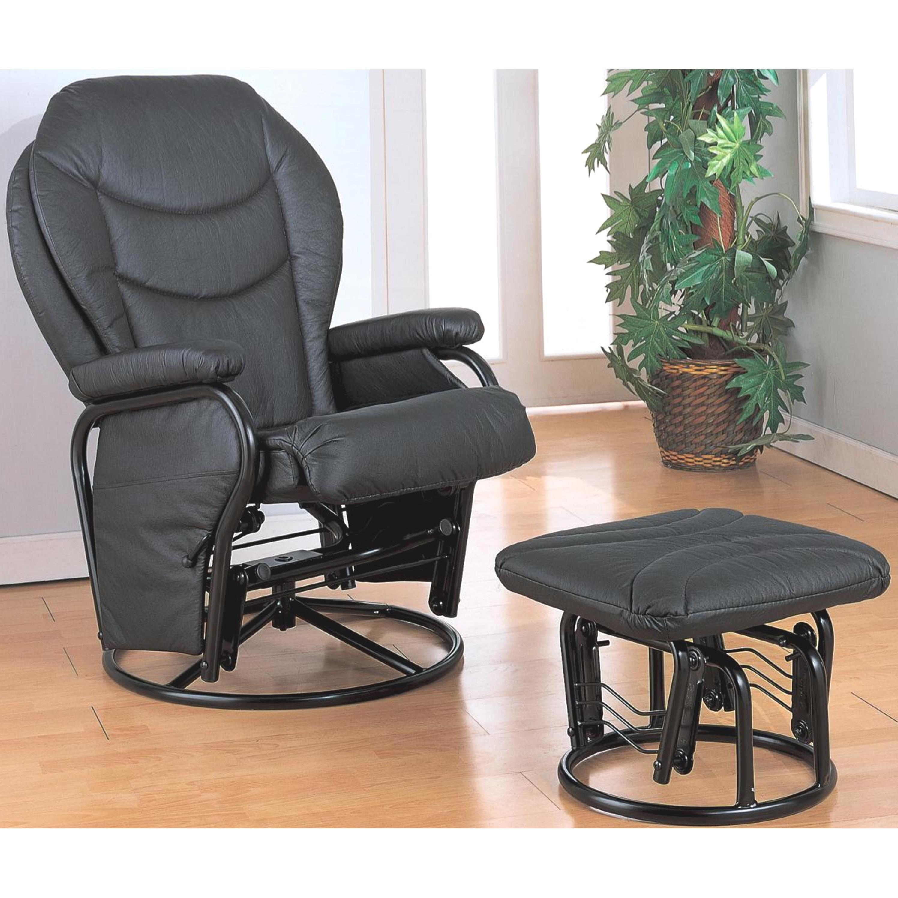 A Line Furniture Ollius Swivel Glider Recliner Ottoman Set