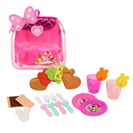 Minnie Mouse Backpack Picnic Set](Minnie Mouse Toddler Toys)
