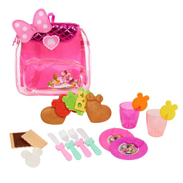 Minnie Mouse Backpack Picnic Set Walmart Com Walmart Com