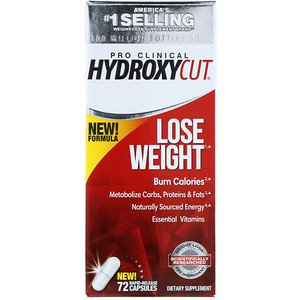 Hydroxycut, Pro Clinical Hydroxycut, Lose Weight, 72 Rapid-Release Capsules (Pack of 1) Pro Clinical Lose Weight