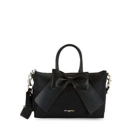 Kris Nylon Bow Satchel