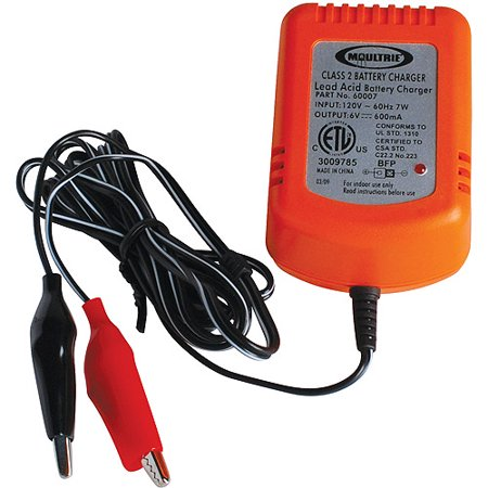 Moultrie 6V Battery Charger
