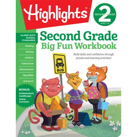 Second Grade Big Fun Workbook (Second Grade Halloween Crafts)