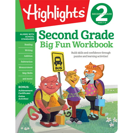 Second Grade Big Fun Workbook](Second Grade Halloween Activities)