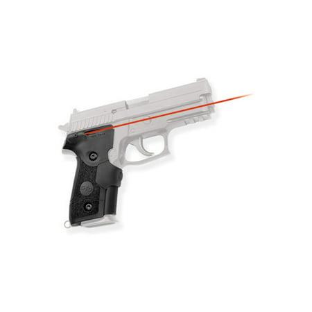 (Crimson Trace Corporation LaserGrip, Fits Sig 228/229, Black, Rubber Overmold)