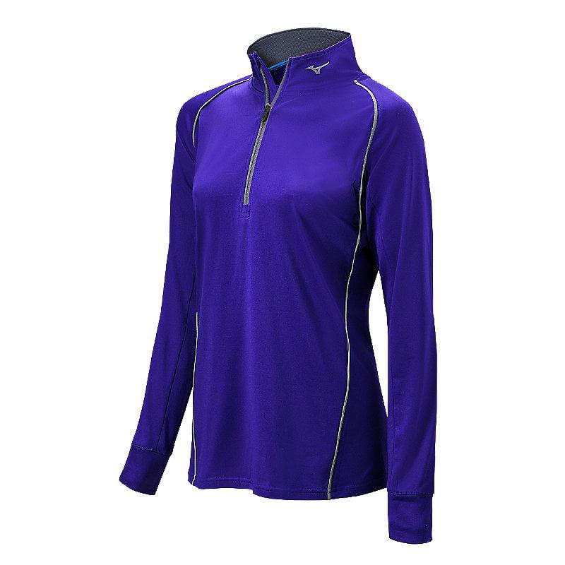 Mizuno Women's Comp 1/2 Zip Long Sleeve Pullover, Size  In Color