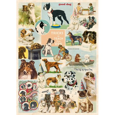 Dog Collage Poster Wrap 20