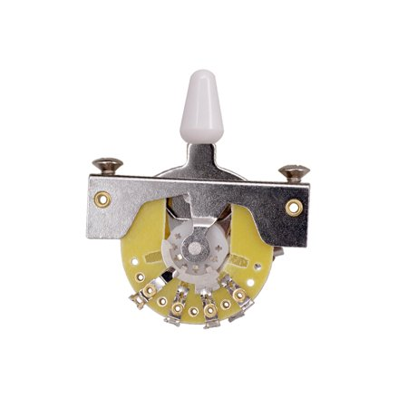 Vintage Style 3-Way Guitar Switch 3-Position Pickup Selector for TL Electric Guitars with Mounting Screws