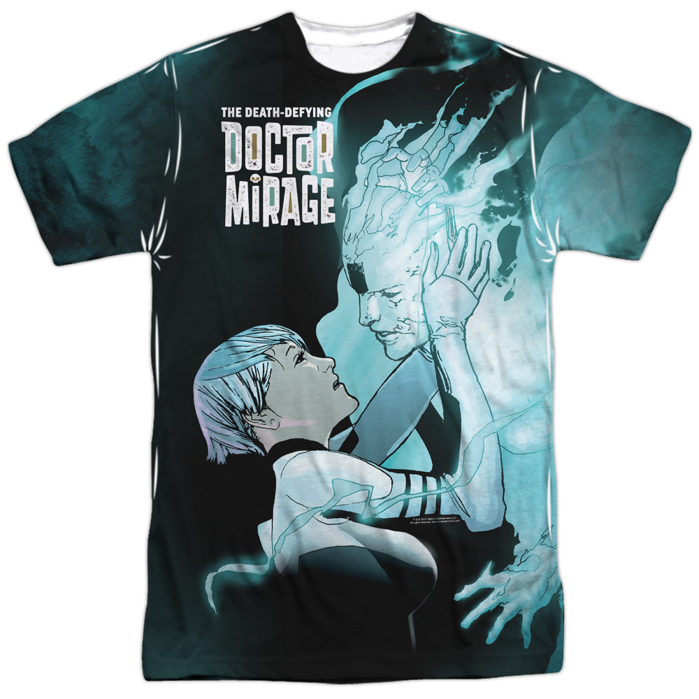 Doctor Mirage Connecting (Front Back Print) Mens Sublimation Shirt