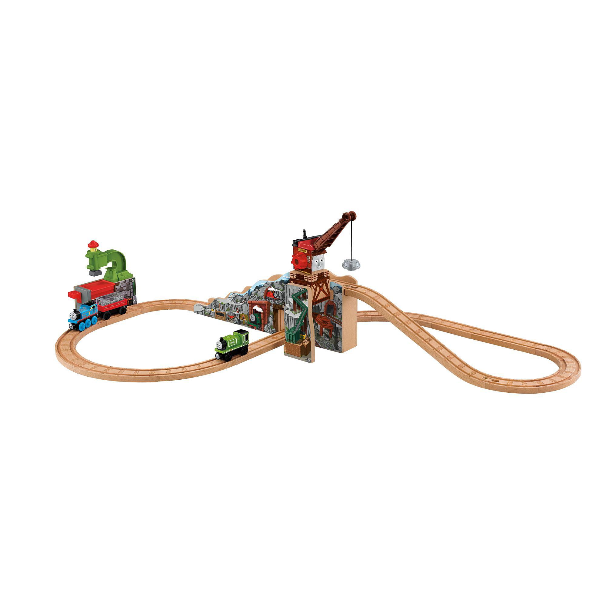 Fisher Price Thomas Wooden Railway Merrick and The Rock Crusher by Mattel