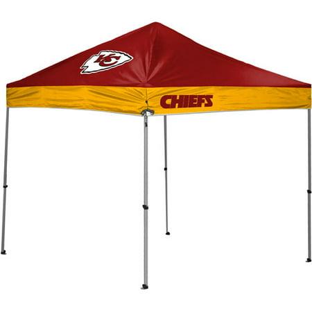 Rawlings Kansas City Chiefs 10 X 10 Straight Leg Canopy