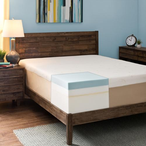 Comfort Dreams Select-A-Firmness 14-inch California King-size Memory Foam Mattress Firm