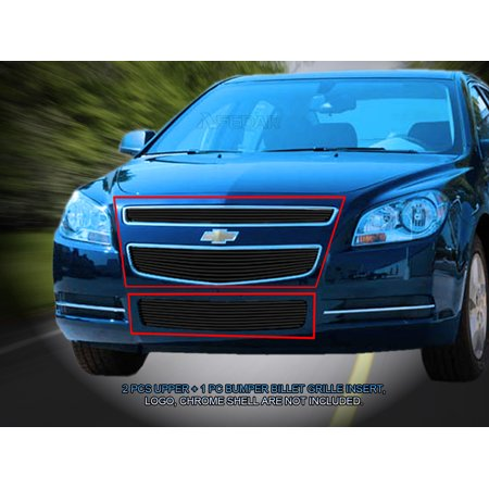Fedar Billet Grille Combo For 2008-2012 Chevy Malibu