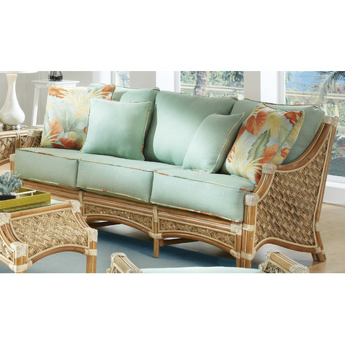 Spice Islands Wicker Mauna Loa'' Sofa