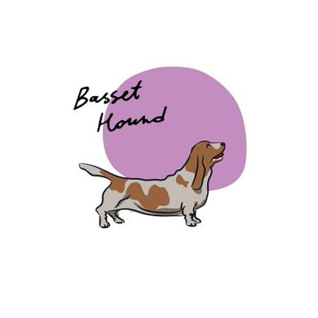 Basset Hound Notebook & Journal. Productivity Work Planner & Idea Notepad : Brainstorm Thoughts, Self Discovery, to Do List