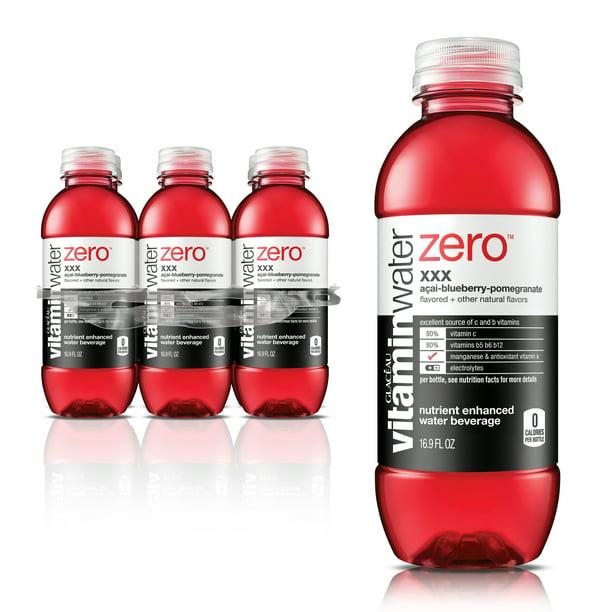 Vitamin Water Zero XXX (Açai-Blueberry-Pomegranate