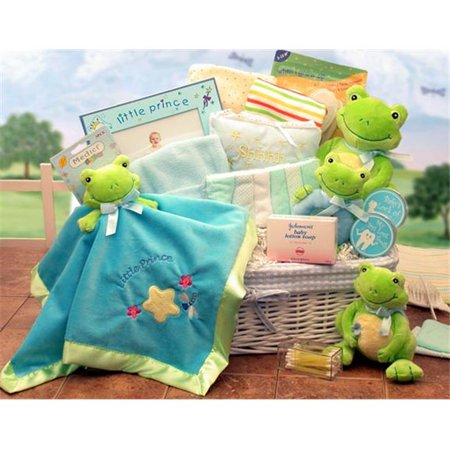 Gift Basket Drop Shipping 890131-B Just Hoppin Around Baby Hamper - Blue