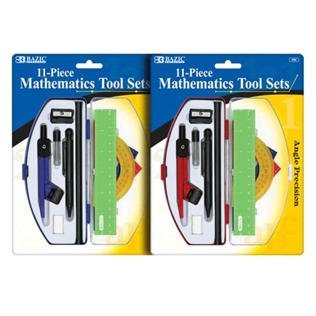 Bazic Products 450-72 BAZIC Student Math Tool Sets Case of 72