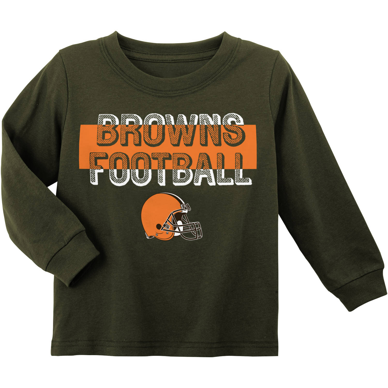 NFL Cleveland Browns Toddler Long Sleeve Tee