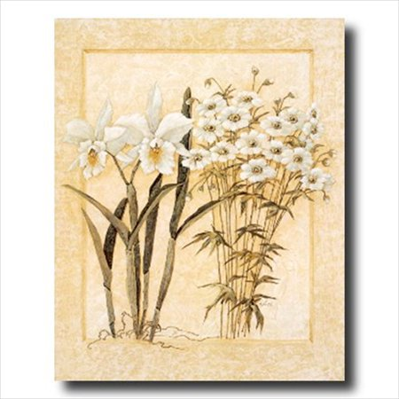 Oriental Flower Japanese Asian Wall Picture Art Print (Oriental Art Supply)