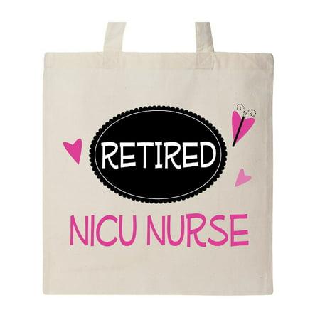 Retired NICU Nurse Cute Tote - Nurse Tote