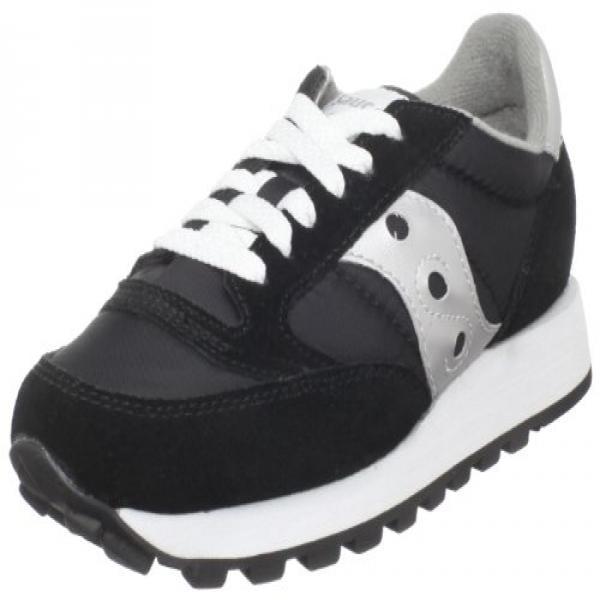 Saucony Originals Women's Jazz Original Classic Retro Sneaker, Black Grey, 9 M US by