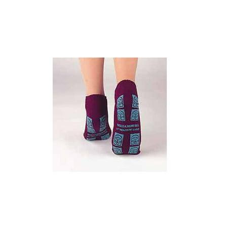 TredMates Slipper Socks  XX-Large Gray Ankle High 1 Pair