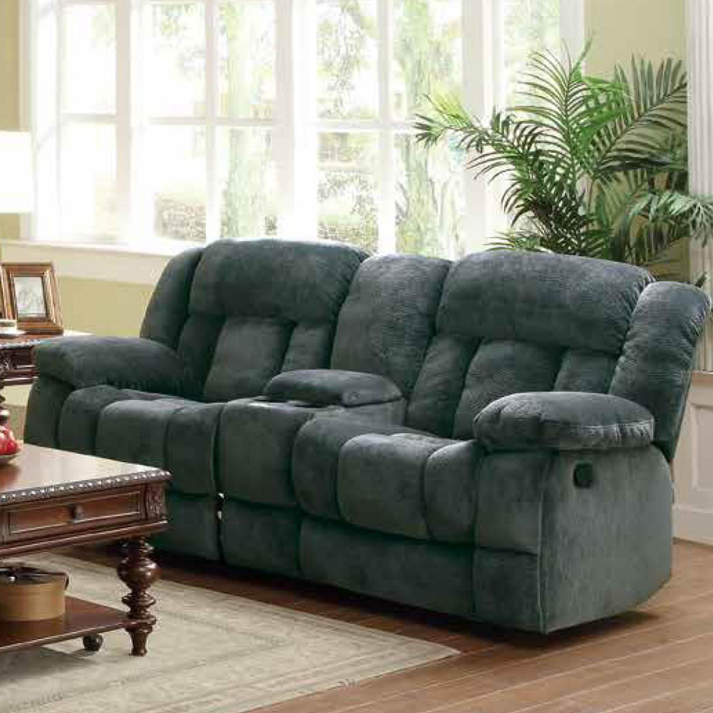 double glider hill with mn black console power reclining loveseat center