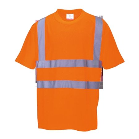 Portwest RT23 2XL Hi-Visibility T-Shirt, Orange - Regular - image 1 of 1
