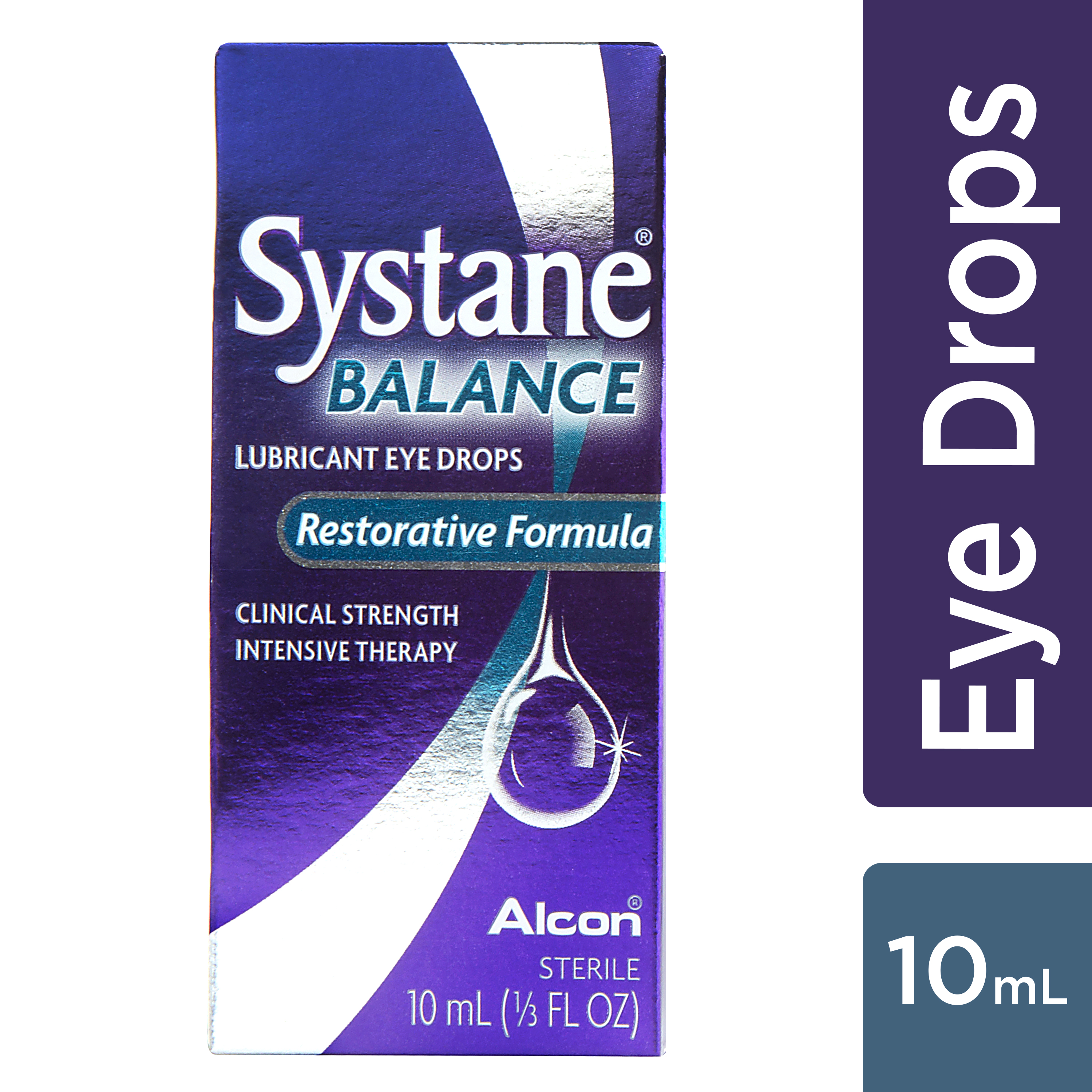 SYSTANE BALANCE Lubricating Eye Drops for Dry Eyes Symptoms, 10mL