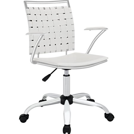 Modern Contemporary Work Office Chair White