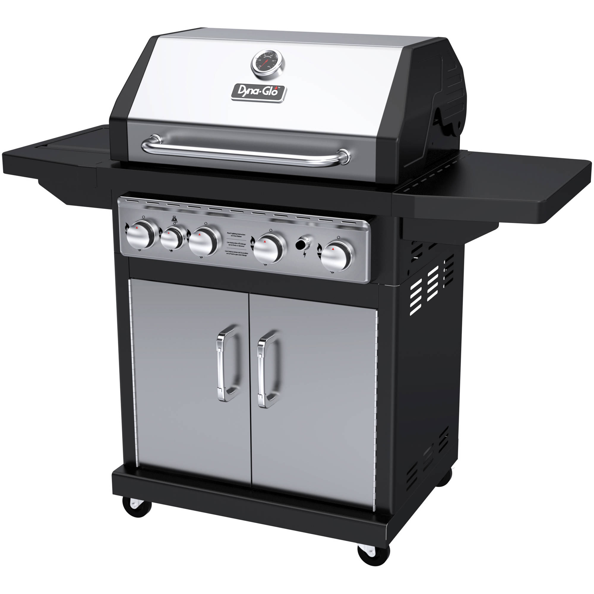 Dyna-Glo DGA480SSP-D 4-Burner Stainless LP Gas Grill