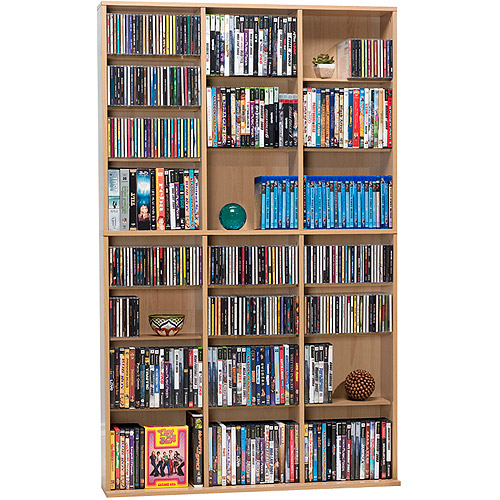Atlantic Media Wall Bookcase