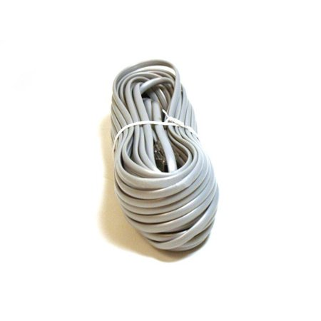 Monoprice Phone Cable, RJ11 (6P4C), Reverse - 50ft for -