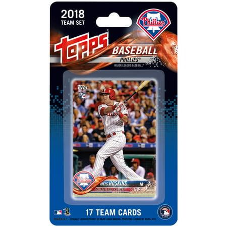Philadelphia Phillies 2018 Team Set Trading Cards - No Size
