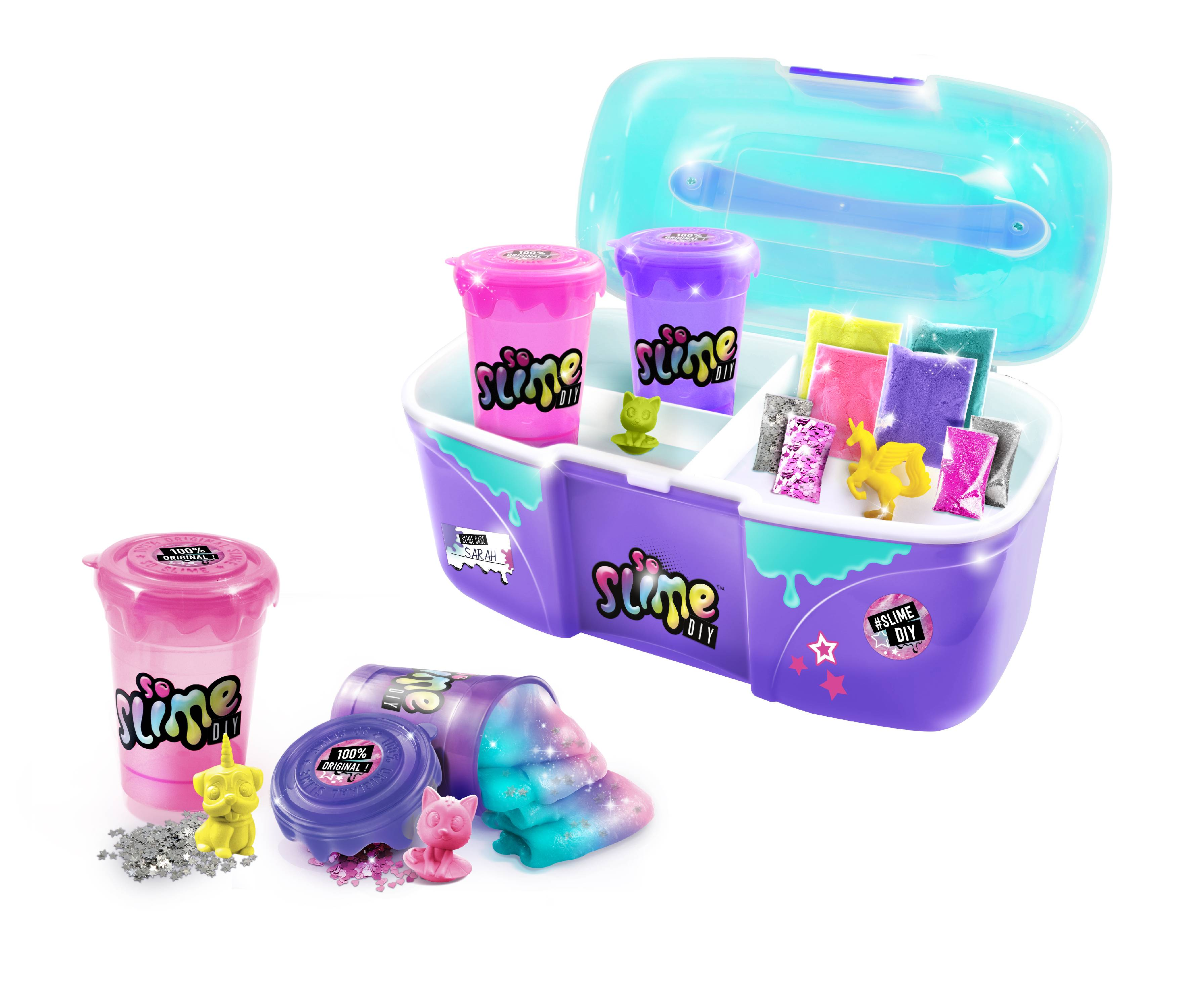 So Slime Factory Shaker Storage containers to hold your slime free shipping new