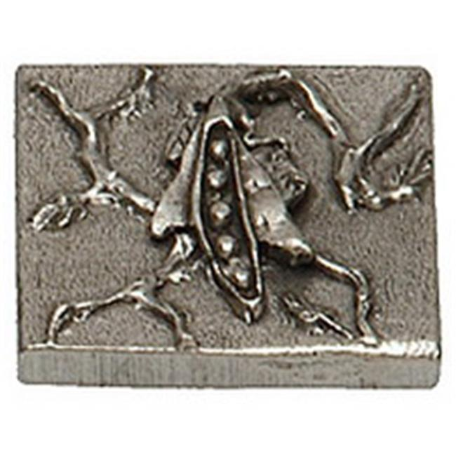 Premier Hardware Designs PHDT-2-NP Oil Rubbed Bronze Pea Tile with Vine, 2 x 2 Inch