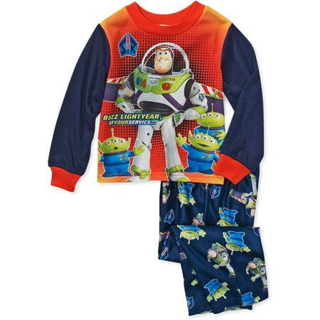 Disney Baby Boys Buzz Lightyear Pajamas Walmart Com