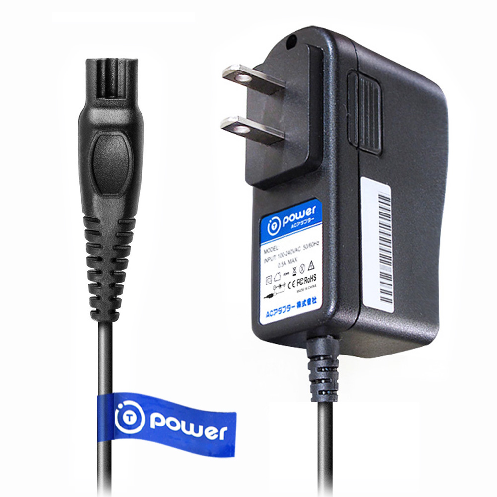 T-Power Power Ac adapter (5 Feet) for 15V Philips Norelco Shaver HQ8505 Xl/ SmartTouch-XL / Speed-XL shavers / Spectra / Arcitec Replacement Ac Dc Adpater Rapid Charger