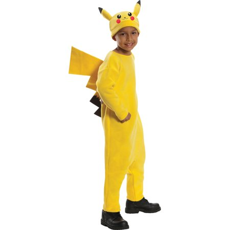 Morris Costumes Pokemon Pikachu Child Medium, Style RU884779MD - Kids Pikachu Costume