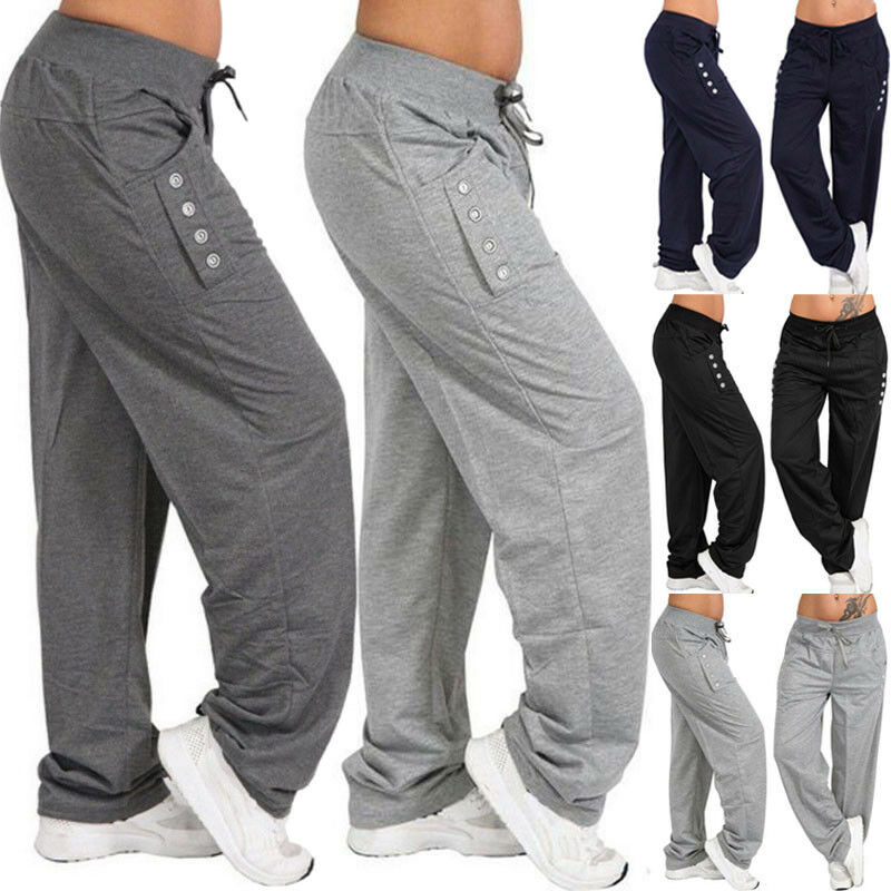 Urkutoba Mens Women Unisex Track Suit Fleece Lined Pants Sport Gym