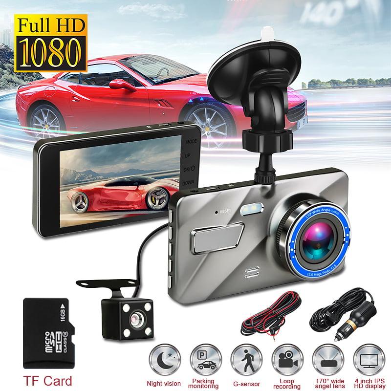 HD 1080P Dual Lens Camera Car DVR Dash Cam Vehicle Video Recorder Night Vision