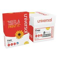 Universal Copy Paper Convenience Carton, 92 Bright, 20lb, 8.5 x 11, White, 500 Sheets/Ream, 5 Reams/Carton -UNV11289