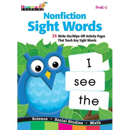 Nonfiction Sight Words Flip Chart