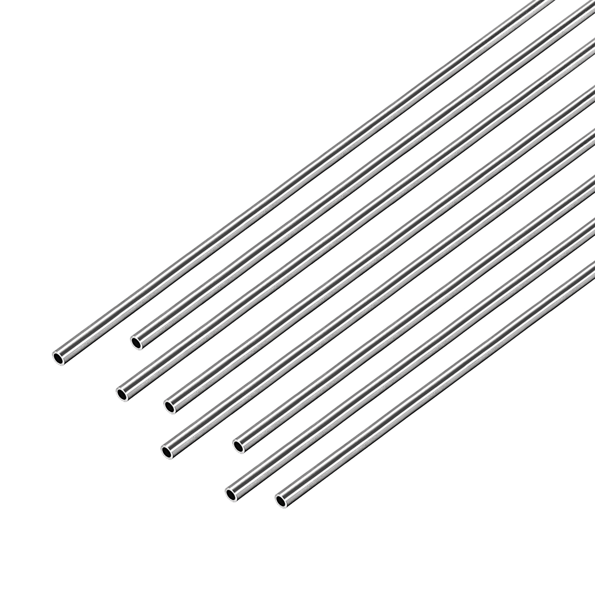 SS304 Stainless Steel  Straight Tubing Pipe 1.8mm OD X 0.1 Wall-length by order