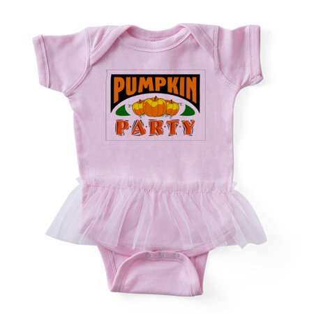 CafePress - Halloween Pumpkin Party - Cute Infant Baby Tutu Bodysuit - Baby Halloween Party