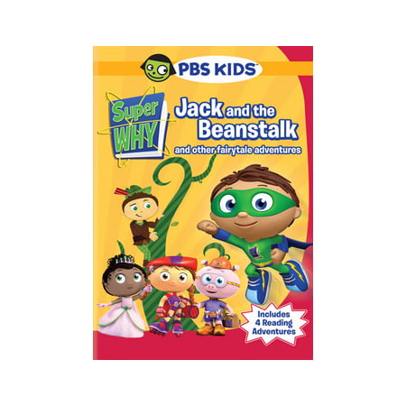 Super Why: Jack and the Beanstalk and Other Fairytale Adventures (DVD) - Super Why Halloween Dvd