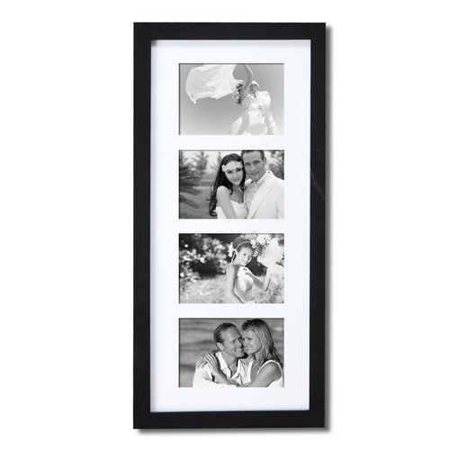 Adeco Trading 4 Opening Decorative Hanging Picture Frame